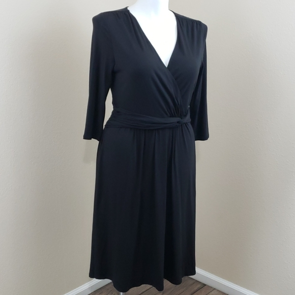 Coldwater Creek Dresses & Skirts - Coldwater Creek Black Dress SZ 14